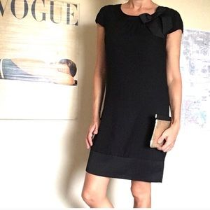 H&M black party dress with bow